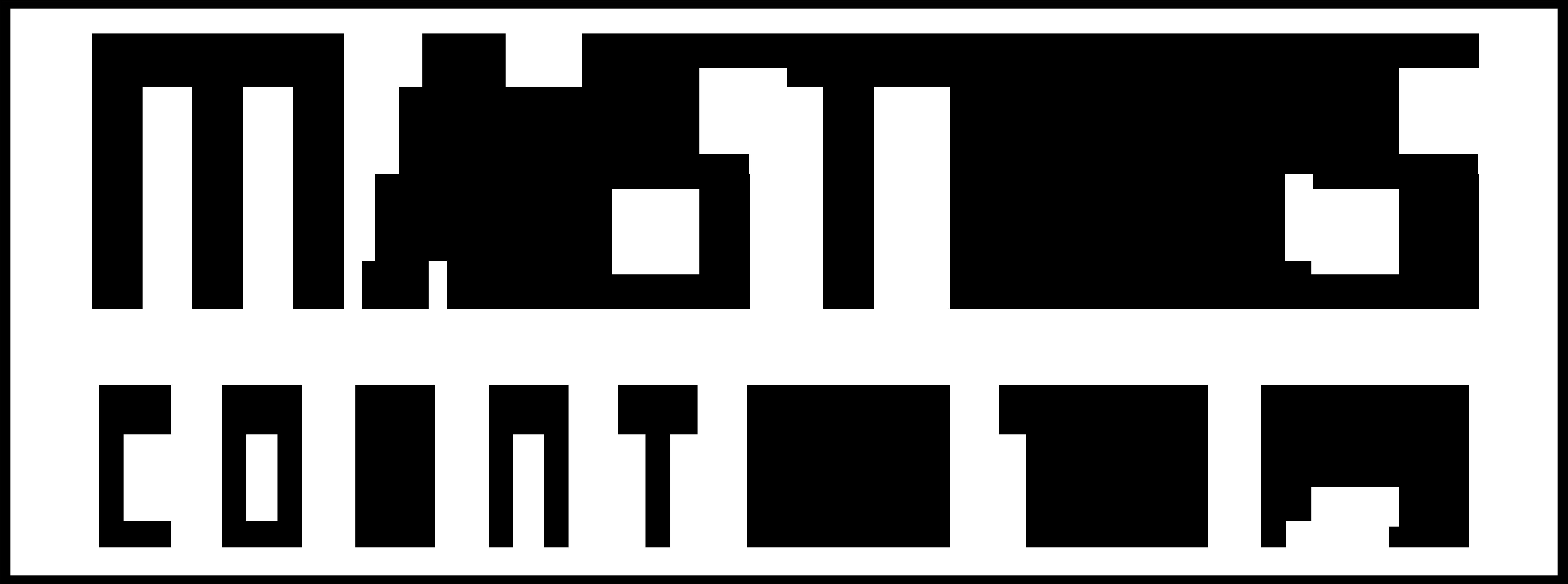 Masters Countertops Logo Black