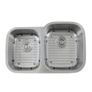 UD612R Sink With Grid Top View