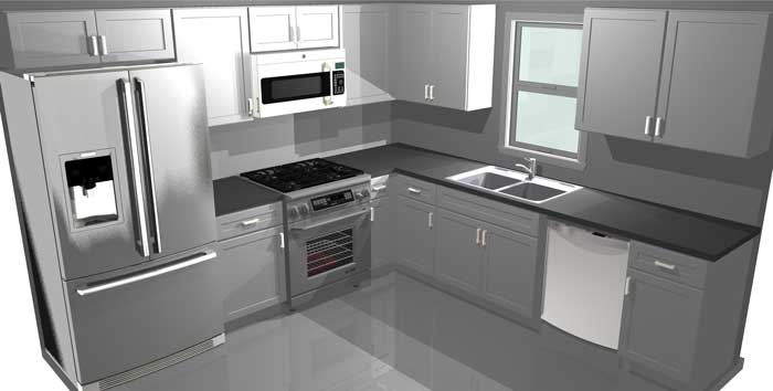 Cabinets and Countertops Packages