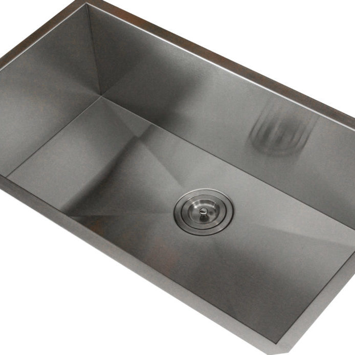 R0-S3118-16 Sink Side View